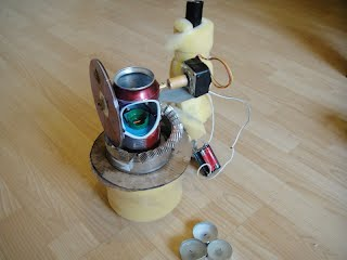 Stirling engine generator